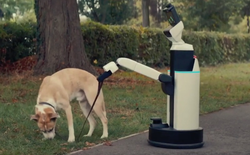 Toyota's human support robot does everyday chores