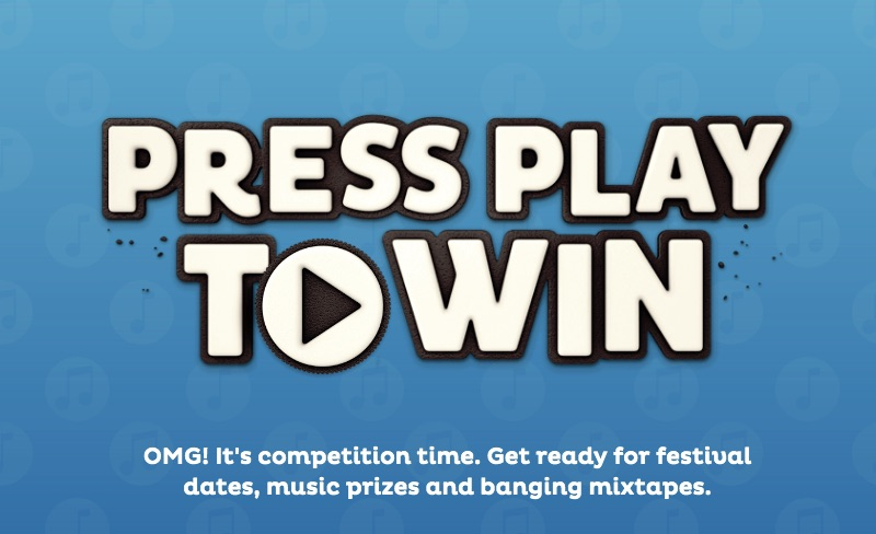 Press Play To Win with OREO