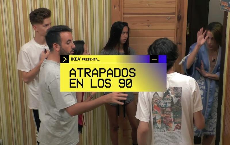 ATRAPADOS EN LOS 90 | IKEA 25 aniversario