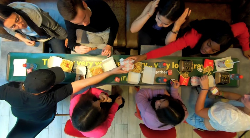 McDonald's® celebrates togetherness with The very very very very...very long tray